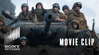"Movie Clip: ""Hold This Crossroad"" - Fury"