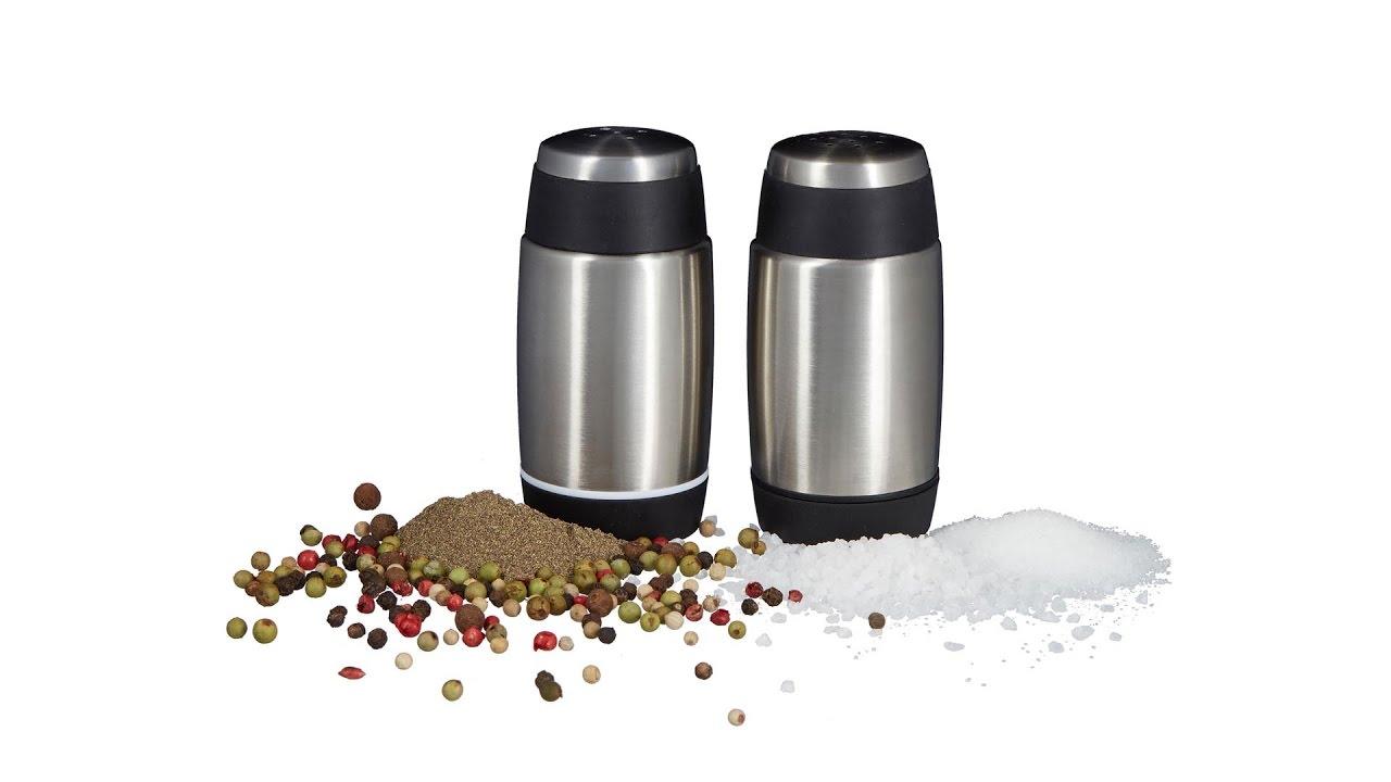 Video von: Salz- und Pfefferstreuer Set