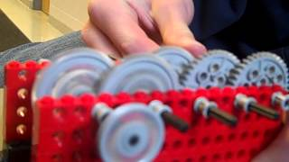 The BEAST Lego Gear Train
