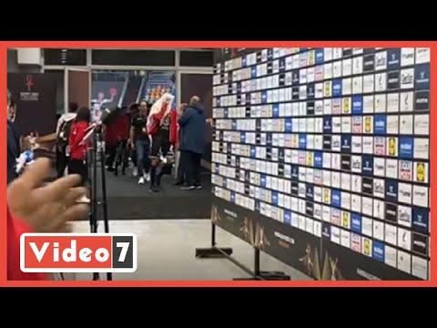 بكاء لاعبى اليد بعد الخسارة من الدنمارك بربع نهائي المونديال