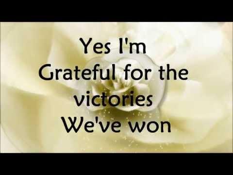Hezekiah Walker - Grateful - Lyrics