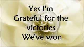 "Video thumbnail of ""Hezekiah Walker - Grateful - Lyrics"""