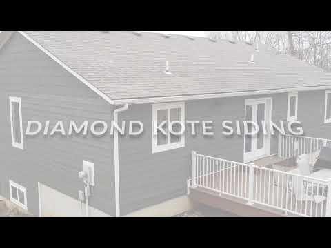 Diamond Kote and Stone Siding Installation in Lane, KS