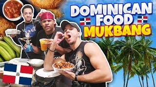 NYC DOMINICAN FOOD MUKBANG! WE BOUGHT SO MUCH! GOOD EATS! HOOKAH! EVERYTHING & MORE!