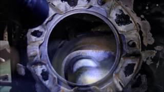 燃料タンクのコーティング施工