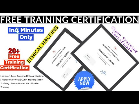 20+ Free Training Online Courses with Certificate | Cyber Security ...