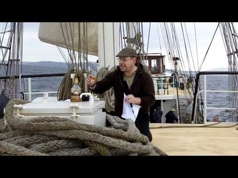 whisky review 207a - Cutty Sark 18yo aboard the 'Antigua'