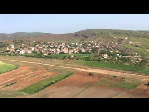 İnegazili Köyü Erenler Tepesinden Görüşü