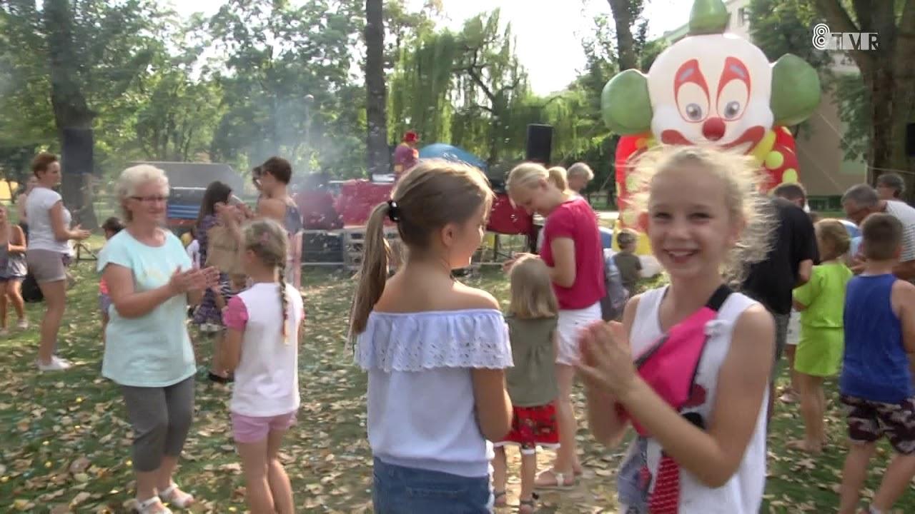Festyn rodzinny w parku Broniewskiego
