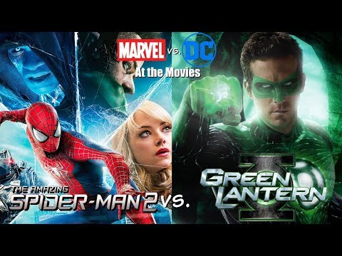 Green Lantern vs. The Amazing Spider-Man 2 - Marvel vs. DC At the Movies