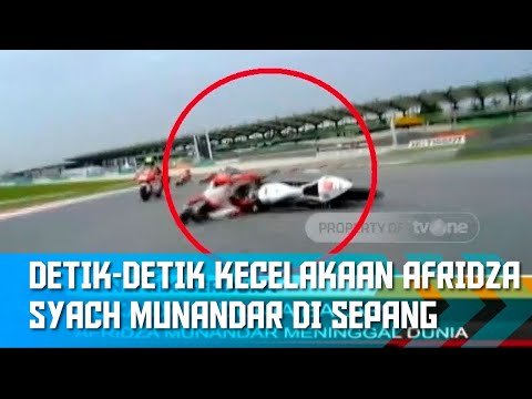 Detik-Detik Kecelakaan yang Merenggut Nyawa Afridza Syach Munandar | Oneprix Update