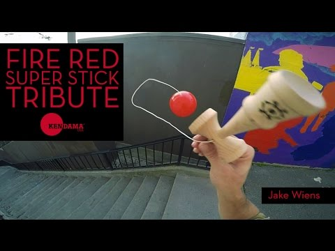Tribute Kendama - Super Stick - Grass Green