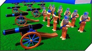 АРМИЯ ДЕРЕВЯННЫХ СОЛДАТИКОВ - Игра Wooden Battles ( 2 серия ) Битва солдатиков