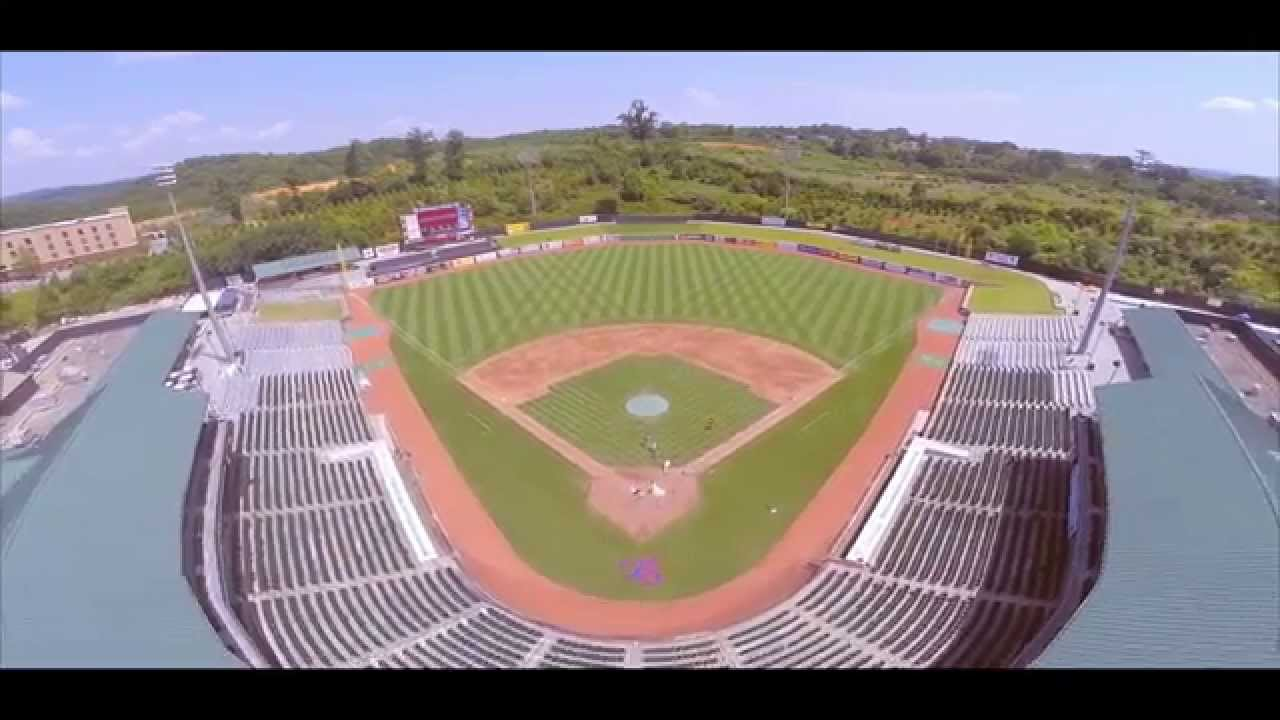 Video 2 by Jonathan and Lisa Price for Drone Wedding Shoot At Smokies Stadium