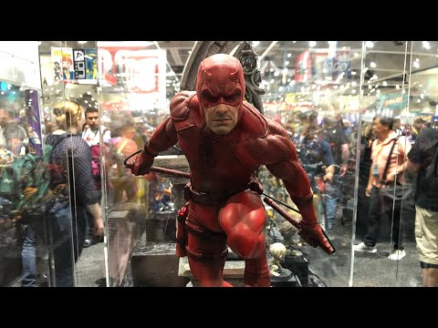 Iron Studios Booth Tour SDCC 2019 (видео)
