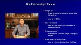 Hypertension - Treatment Thresholds and Lifestyle Modifications