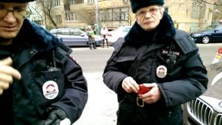 Незаконное задержание на незаконной парковке. Ч2