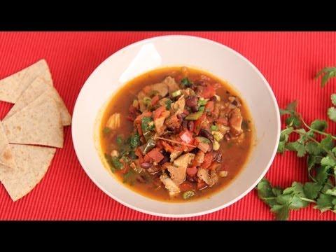 Chicken Tortilla Soup Recipe- Laura Vitale – Laura in the Kitchen Episode 547