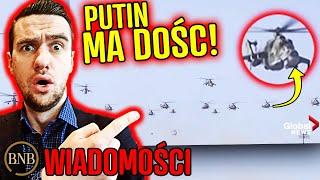 Żarty się skończyły! Rosja wypuściła RÓJ DRONÓW wojskowych | WIADOMOŚCI