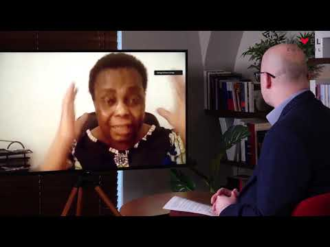 Přehrát video: Václav Havel Human Rights Prize 2020: Interview with Julienne Lusenge