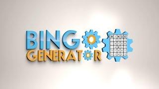 How to generate bingo cards with the Bingo Card Generator Excel program