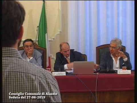 Consiglio comunale di Alassio, seduta del 27 giugno 2019