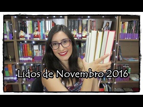 Leituras de Novembro 2016 | Biblioteca Fantástica