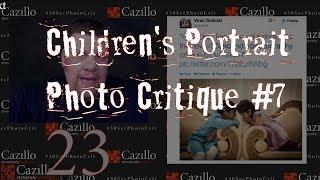 Childrens Portrait - Photography Critique #7