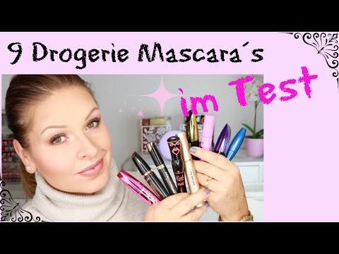 9 Drogerie Mascaras im Test I grosse REVIEW I Essence Catrice Loreal MaxFactor Astor P2 Mamaco