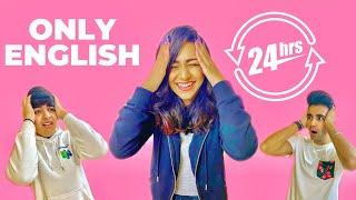 SPEAKING ONLY ENGLISH for 24 Hours Challenge | Rimorav Vlogs