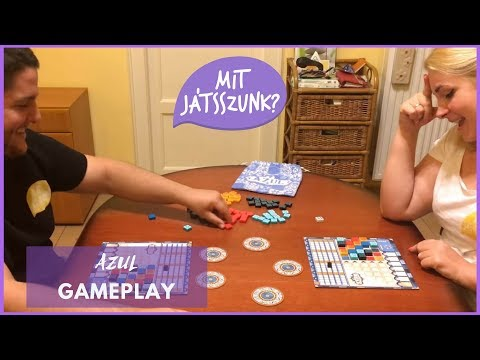 Azul Játékparty (Gameplay) - Mit Játsszunk?