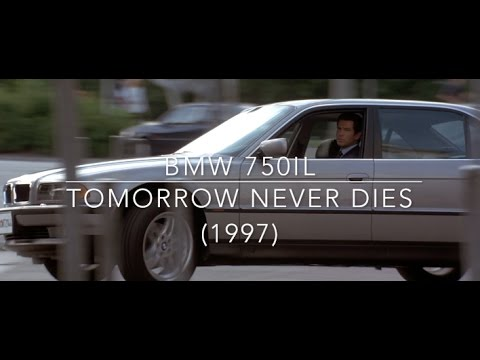 BMW 750IL from Tomorrow Never Dies (1997)