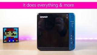 Qnap TS 453B NAS Review The Best 4 bay NAS DAS Direct USB C 10GbE M.2 SSD Wireless Plex Home Theatre