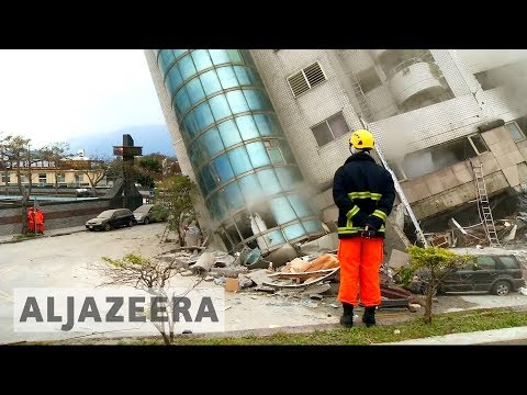 🇹🇼 Taiwan earthquake: Race to save survivors under collapsed hotel