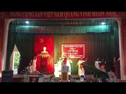 Hát múa: Biết ơn chị Võ Thị Sáu _ HS Trường tiểu học Thụy Xuân