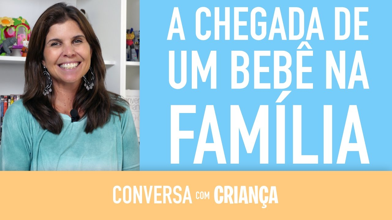 A chegada de um bebê na família | Conversa com Criança