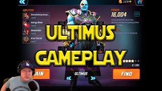 Rarest Character Ultimus Gameplay | Marvel Strike Force