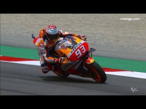 2018 Catalan GP - Honda in action