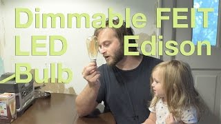 Dimmable FEIT LED Edison Review