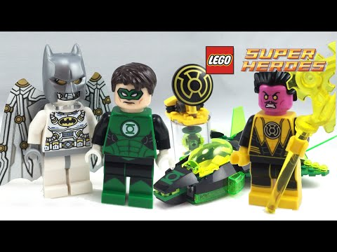 NEW LEGO GREEN LANTERN FROM SET 76025 JUSTICE LEAGUE (sh145)