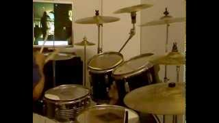 IN MEMORY of QUORTHON -1966-2004-through blood by thunder-Bathory-drum cover