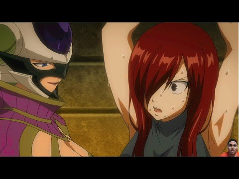 Fairy Tail Episode 238 (Series 2 Ep 63) フェアリーテイル Anime Review - Erza's in Jail