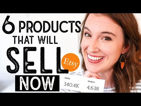 , title : 'WHAT TO SELL ON ETSY | 6 Products guaranteed to make Etsy sales TODAY
