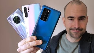 Huawei P40 Pro vs Huawei Mate 30 Pro vs Huawei P30 Pro - Which Huawei Phone is Best For Me?