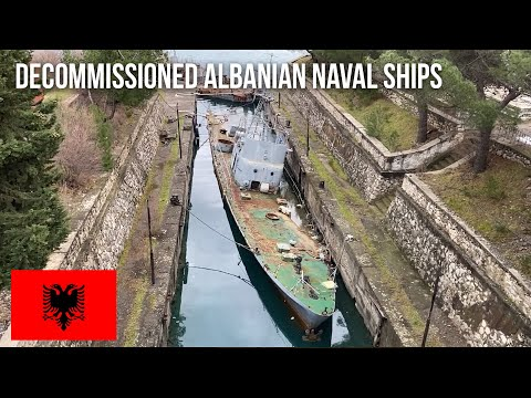 URBEX | decommissioned Albanian naval ships