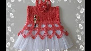 Crochet Patterns| For Free |crochet Baby Dress| 2