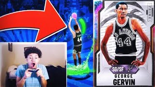 *NEW* GALAXY OPAL GEORGE GERVIN IS THE MOST UNDERRATED CARD YOU CAN BUY IN NBA 2K20 MYTEAM