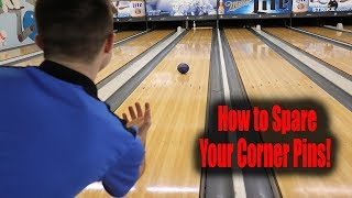 BOWLING - HOW TO SPARE YOUR CORNER PINS