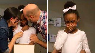 მათ 6 წლის აფრიკელი გოგონა იშვილეს,როდესაც ინგლისური ისწავლა საშინელი სიმართლე გაირკვა