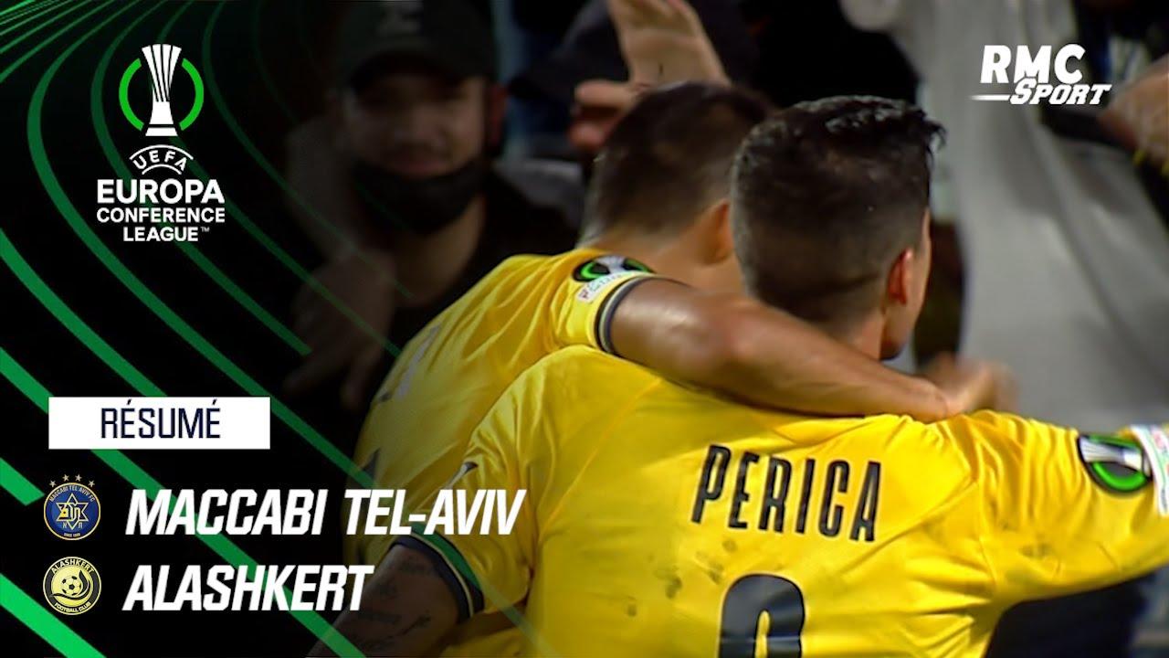 Résumé : Maccabi Tel-Aviv 4-1 Alashkert - Ligue Europa Conférence J1